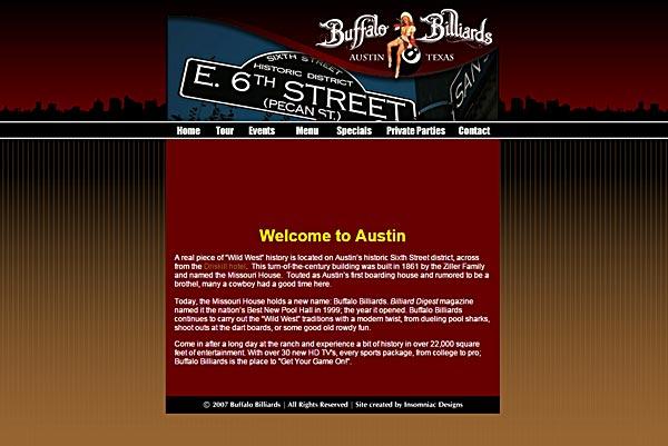 buffalo billiards austin old website
