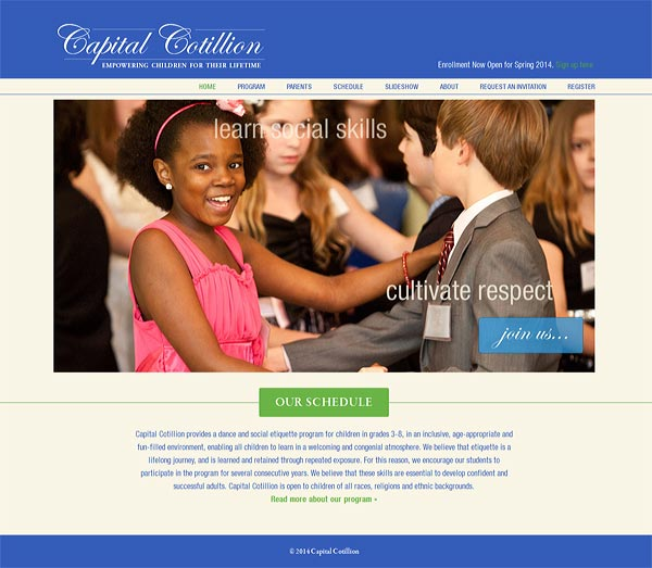Capital Cotillion social dance and etiquette program