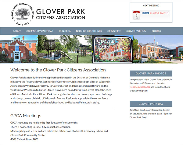 Glover Park Citizens Association
