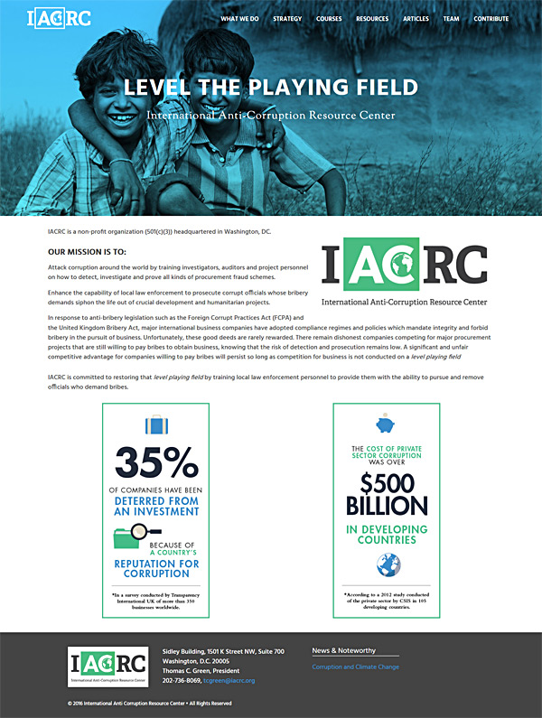 IACRC new website