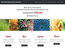 Incorporations Poetry