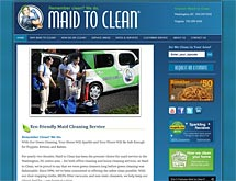 maid to clean website